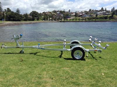 4.6M Rollered Boat Trailer