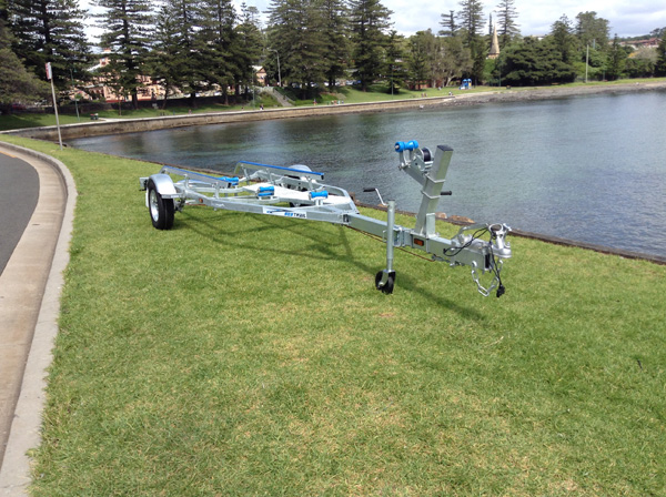 5.4M Boat Trailer
