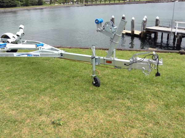 5.4M Boat Rollered Trailer