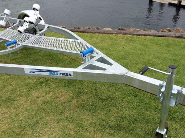 5.3M Boat Trailer