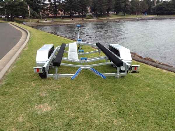 5.9M Boat Trailer with Carpeted Skids