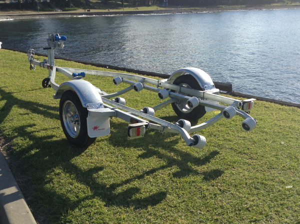 Trailer to suit up to 3 seater jetskisTrailer to suit up to 3 seater jetskis