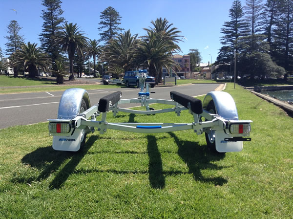 Trailer for boats up to 3.75M